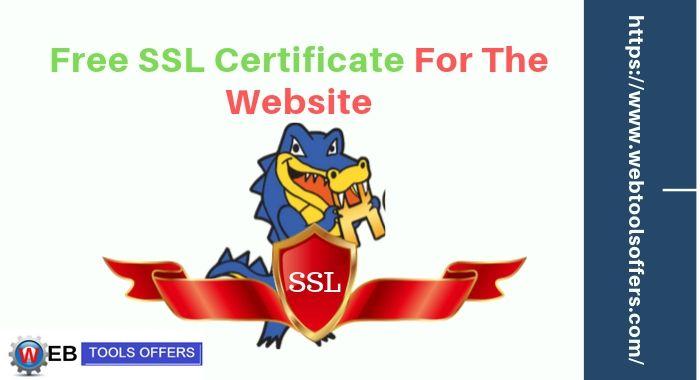 Free SSL Available on Hostgator