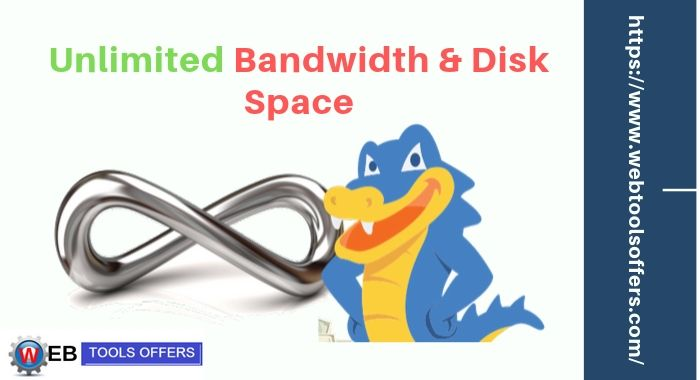 Unlimited Bandwidth & Disk Space