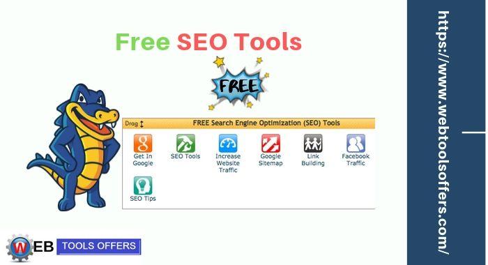 Free SEO Tools at Hostgator