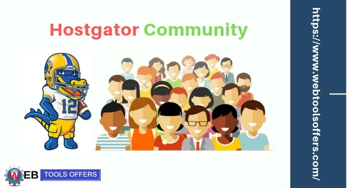 Hostgator Community is also one reason to choose Hostgator