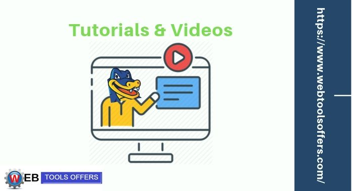 Hostgator Provide tutorials and Videos to users