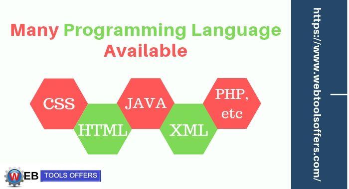 Numerous Programming Language Available at Hostgator