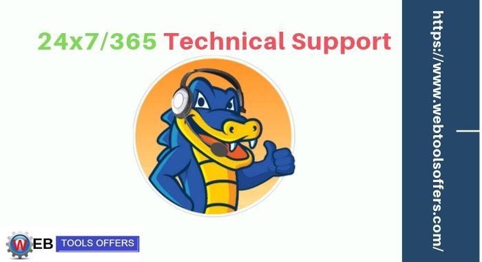 Hostgator provide 24*7/365 customer support