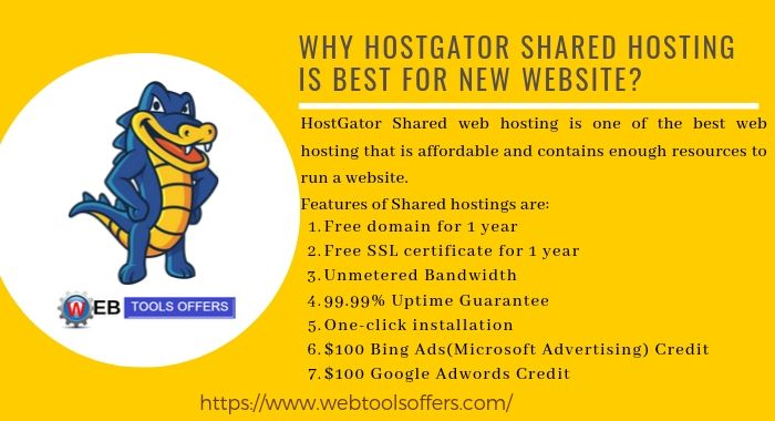 Why HostGator Shared Hosting is best for beginners