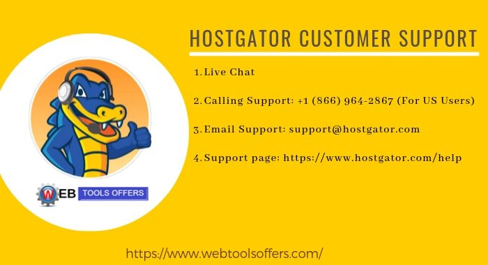 HostGator Customer Support Details