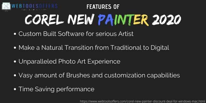 Corel New Painter 2020 Coupon Code