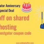Hostgator Anniversary Special 91 % off coupon code