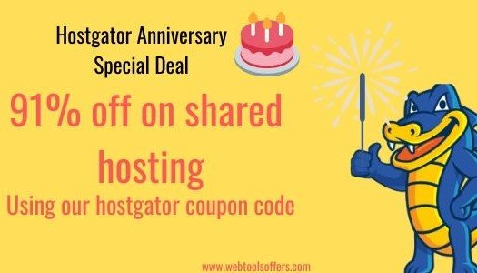 HostGator Birthday Sale 2019