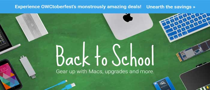 Mac sales OWC Discount Deal