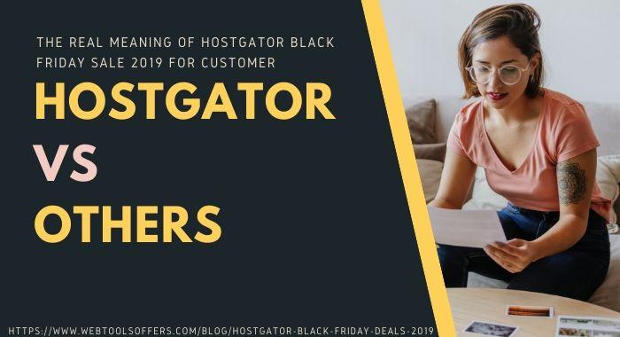 Hostgator on this Black Friday Sale 2019
