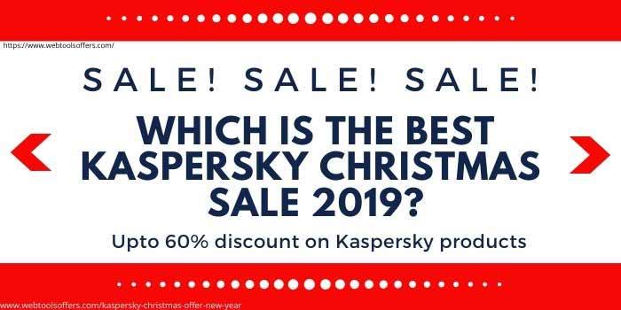 Kaspersky Christmas Sale