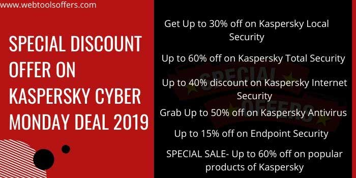 Kaspersky Cyber Monday Special Deal