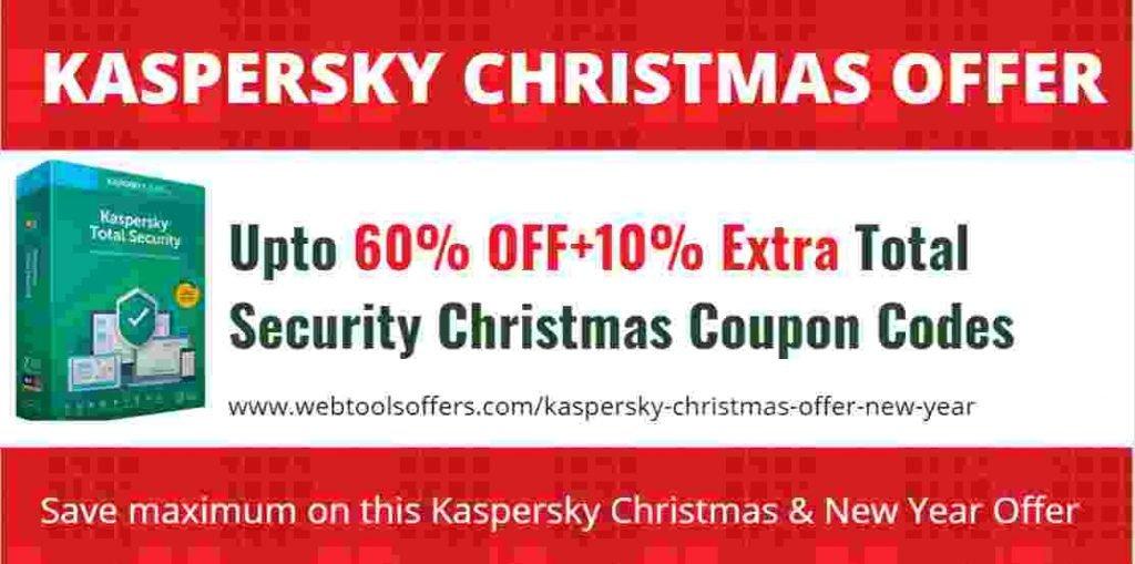 Kaspersky Total Security Christmas Offer
