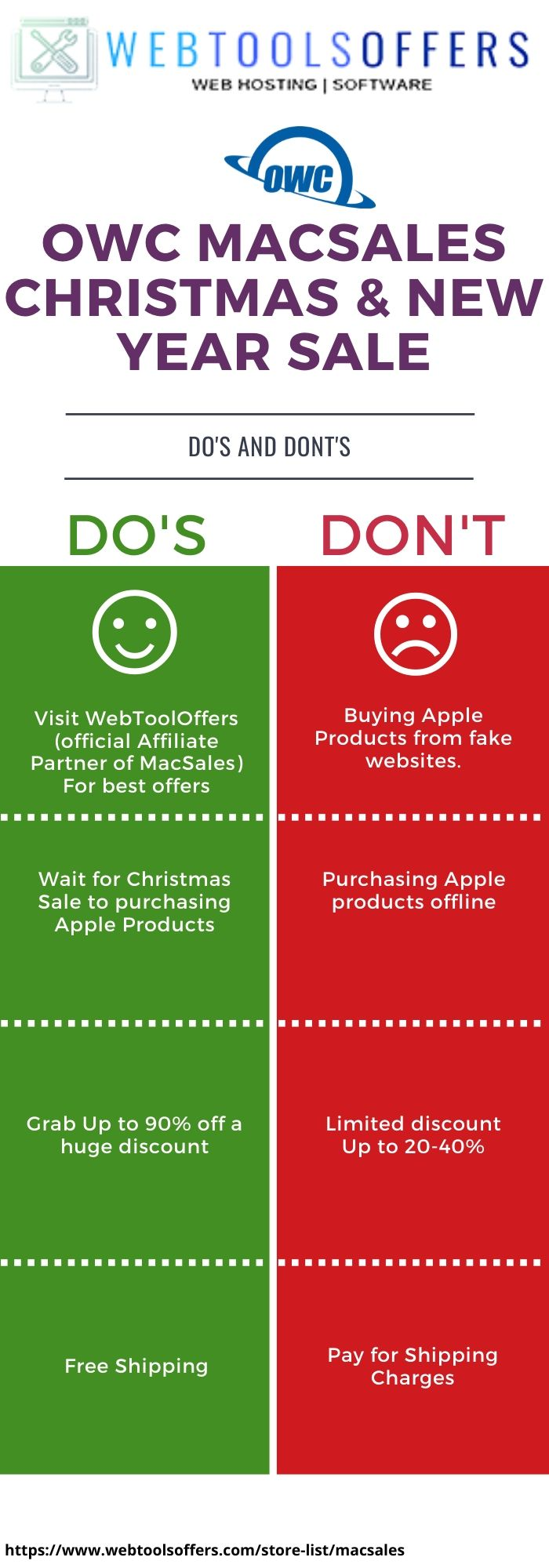 Macsales christmas & New Year Sale