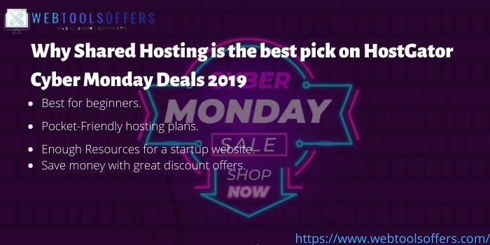 hostgator cyber monday 2019 plans