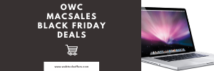 macsales owc black friday sales 2019