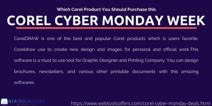 Corel Cyber Monday 2019 Sale