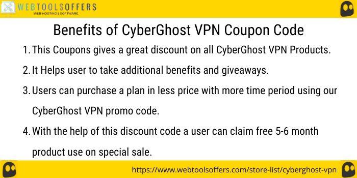 CyberGhost VPN voucher