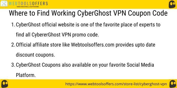 CyberGhost VPN discount code
