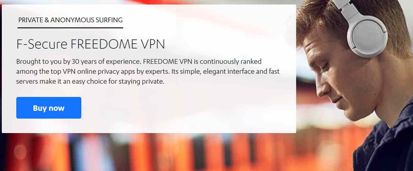 F-Secure Freedom VPN