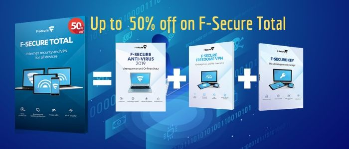 F-Secure Total Coupon Code