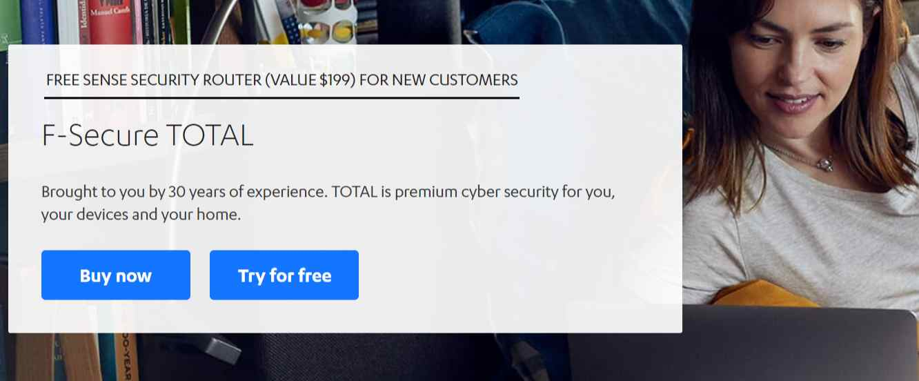 F-Secure Total Coupon