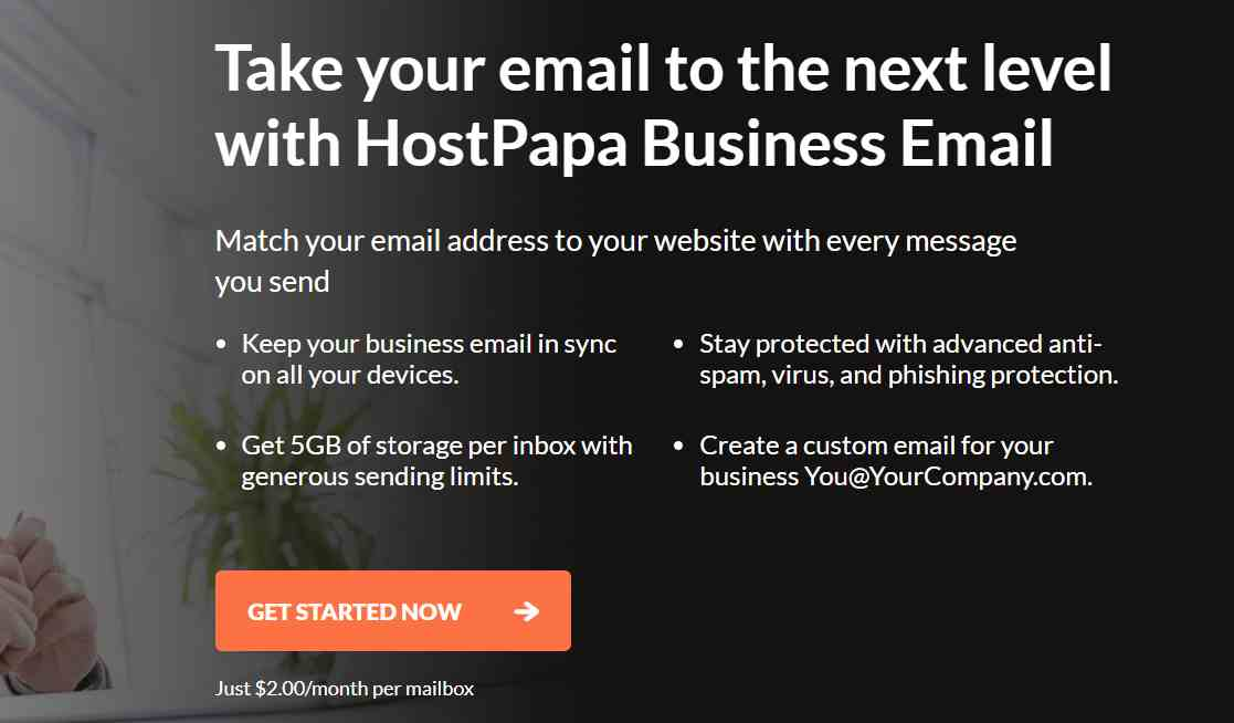 Hostpapa Email Hosting