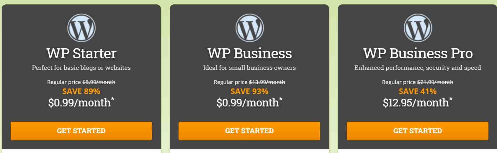 Hostpapa WordPress Hosting