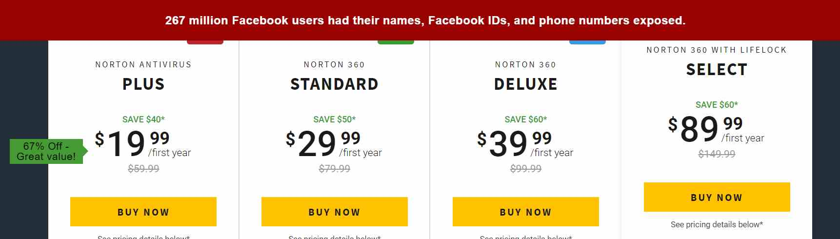 Norton Antivirus Plus Coupon