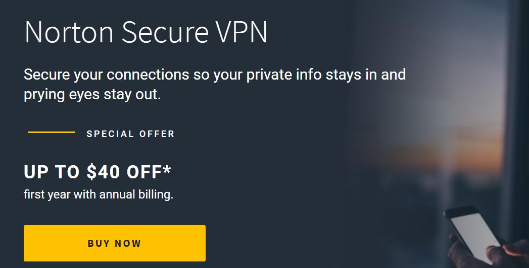 norton vpn secure coupon