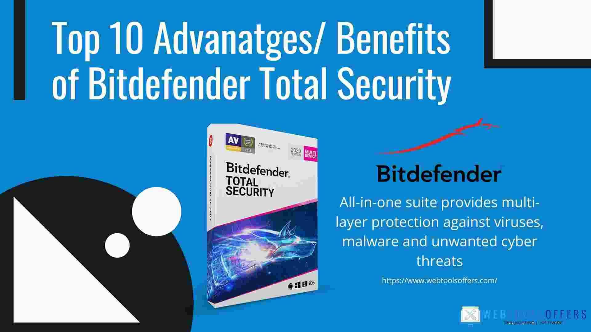 Benefits of Bitdefender Total Security