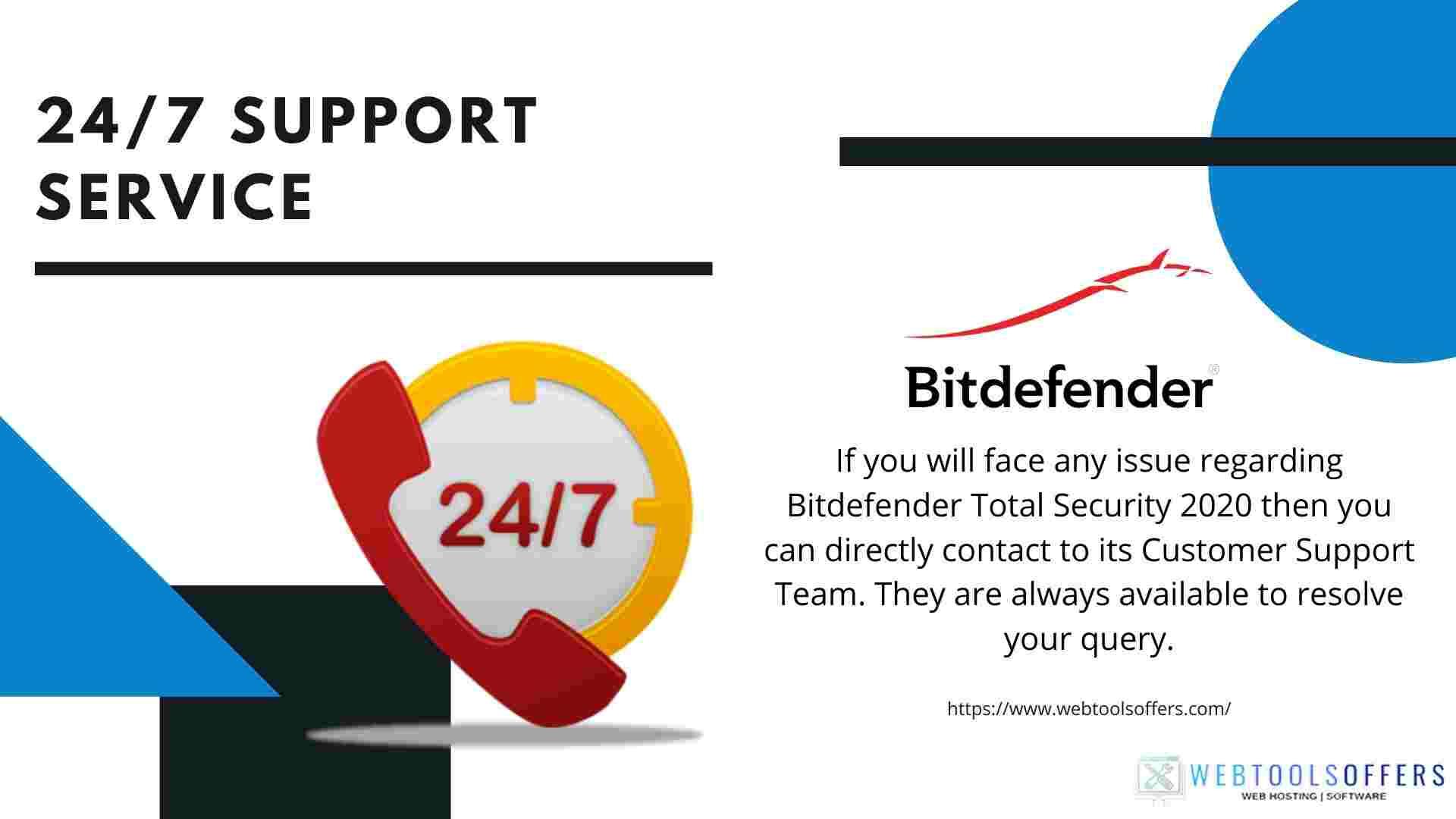 Bitdefender Total Security Support Service