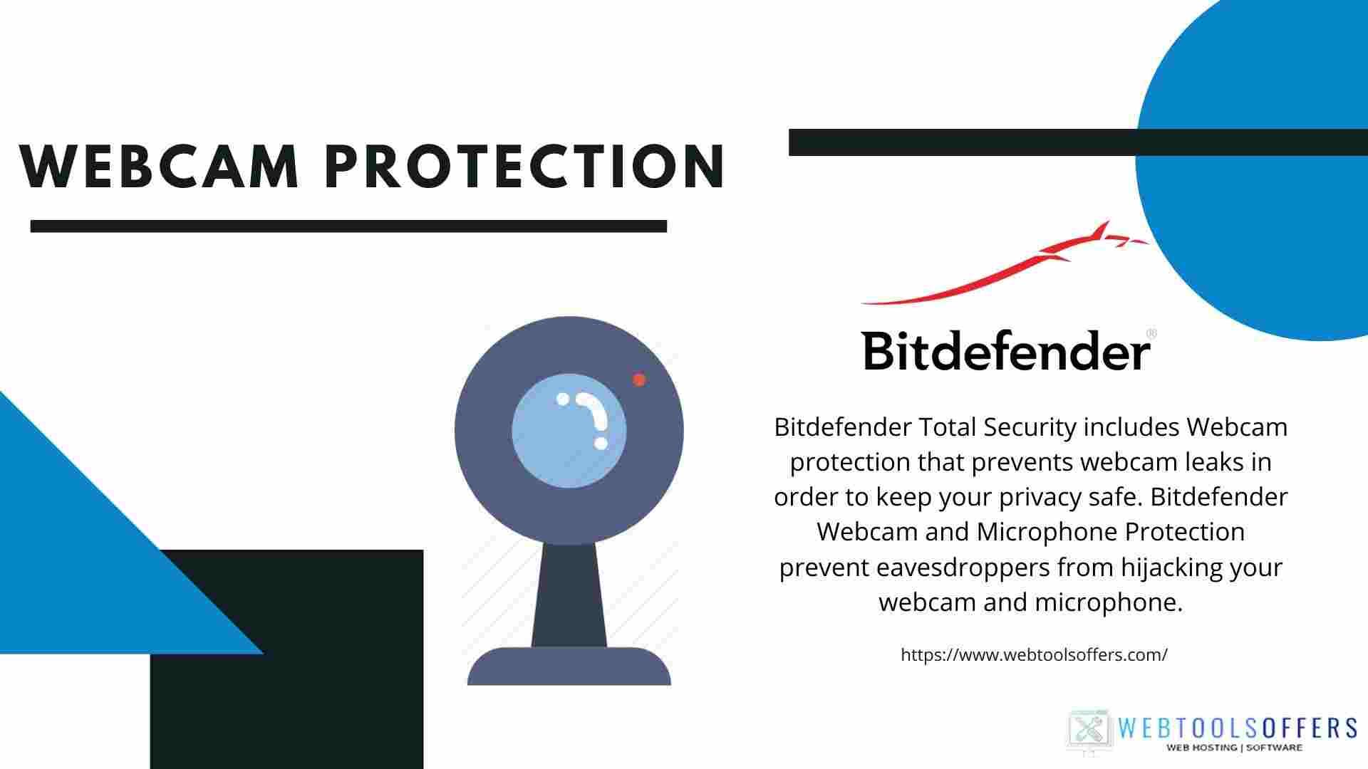 Bitdefender Total Security Webcam protection