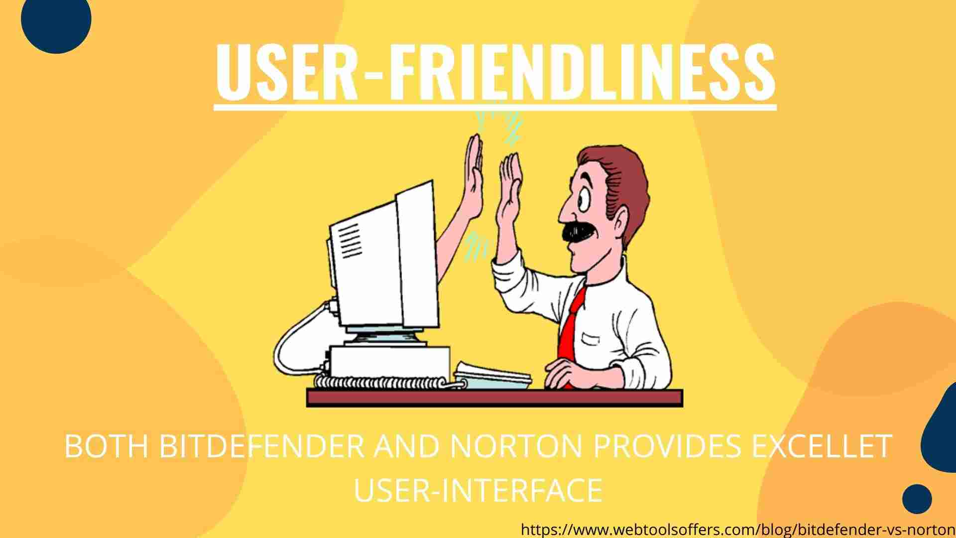 Bitdefender Vs Norton- user-Friendliness