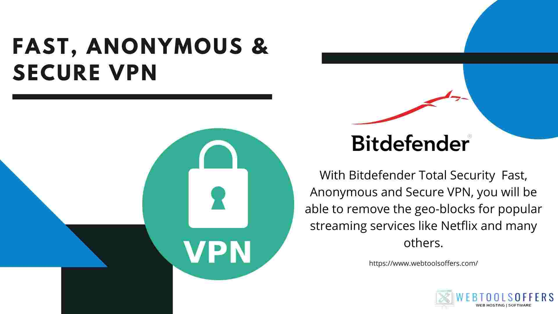 Fast, Anonymous and Secure VPN