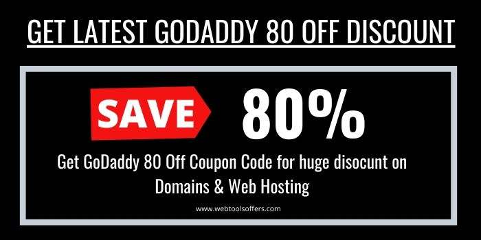 GoDaddy 80 Off Promo Code