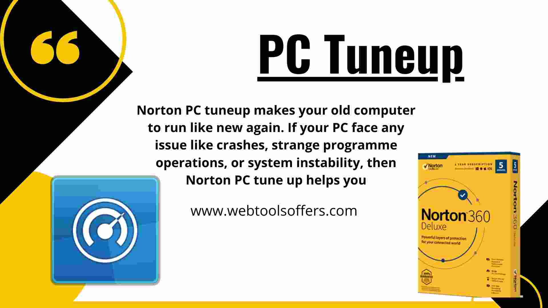 Norton 360- PC Tuneup