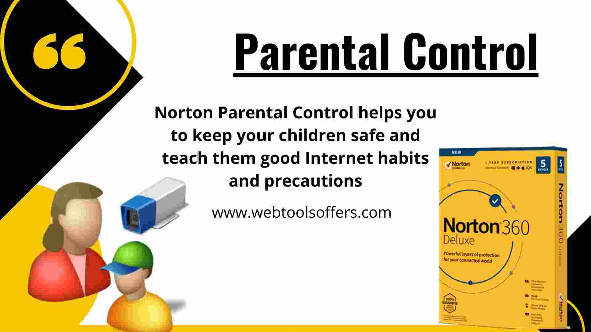 Norton 360- Parental Control