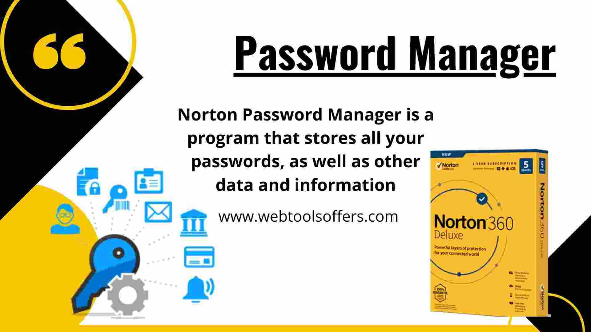 Norton 360- Password Manager