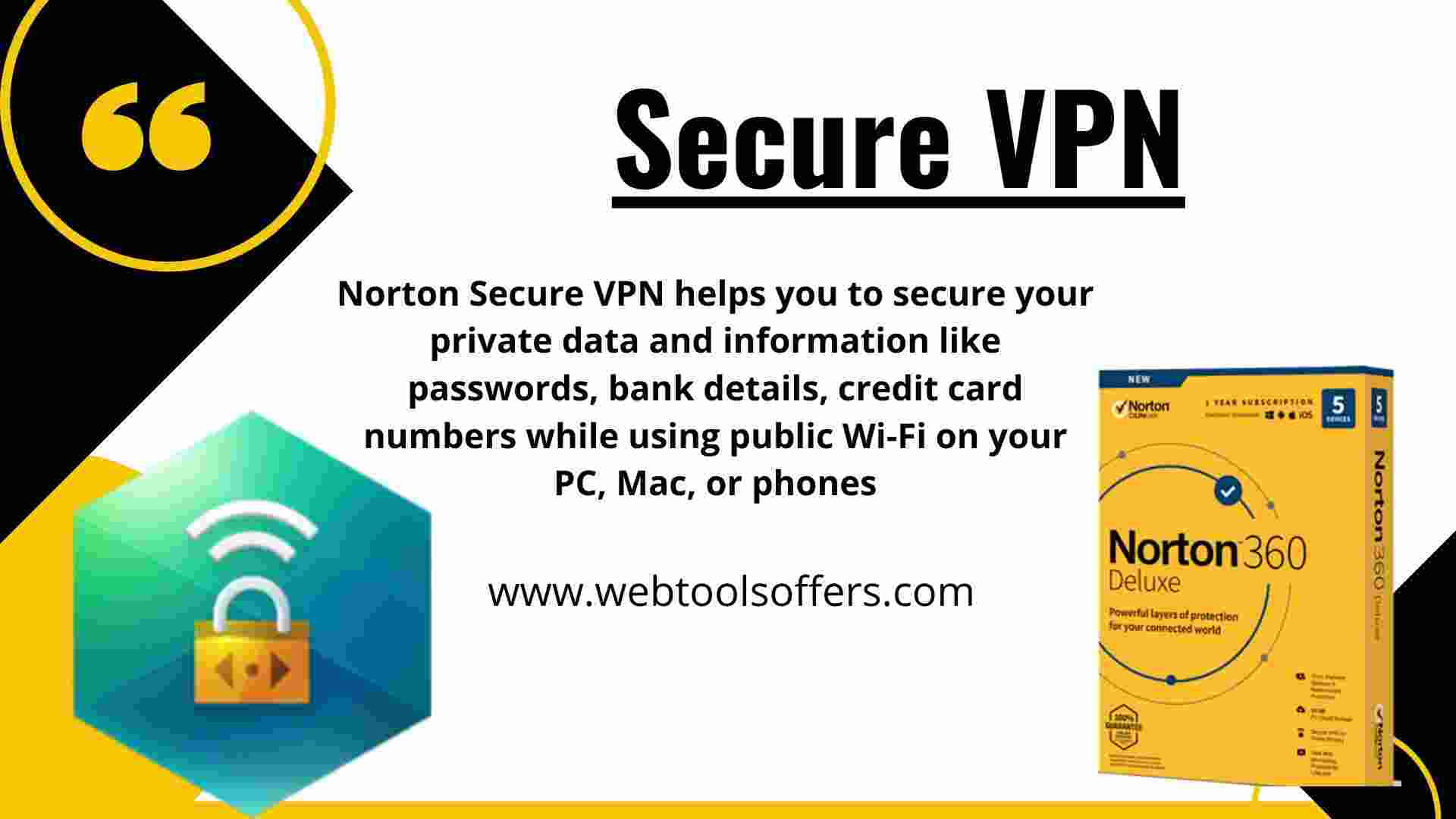 Norton 360- Secure VPN
