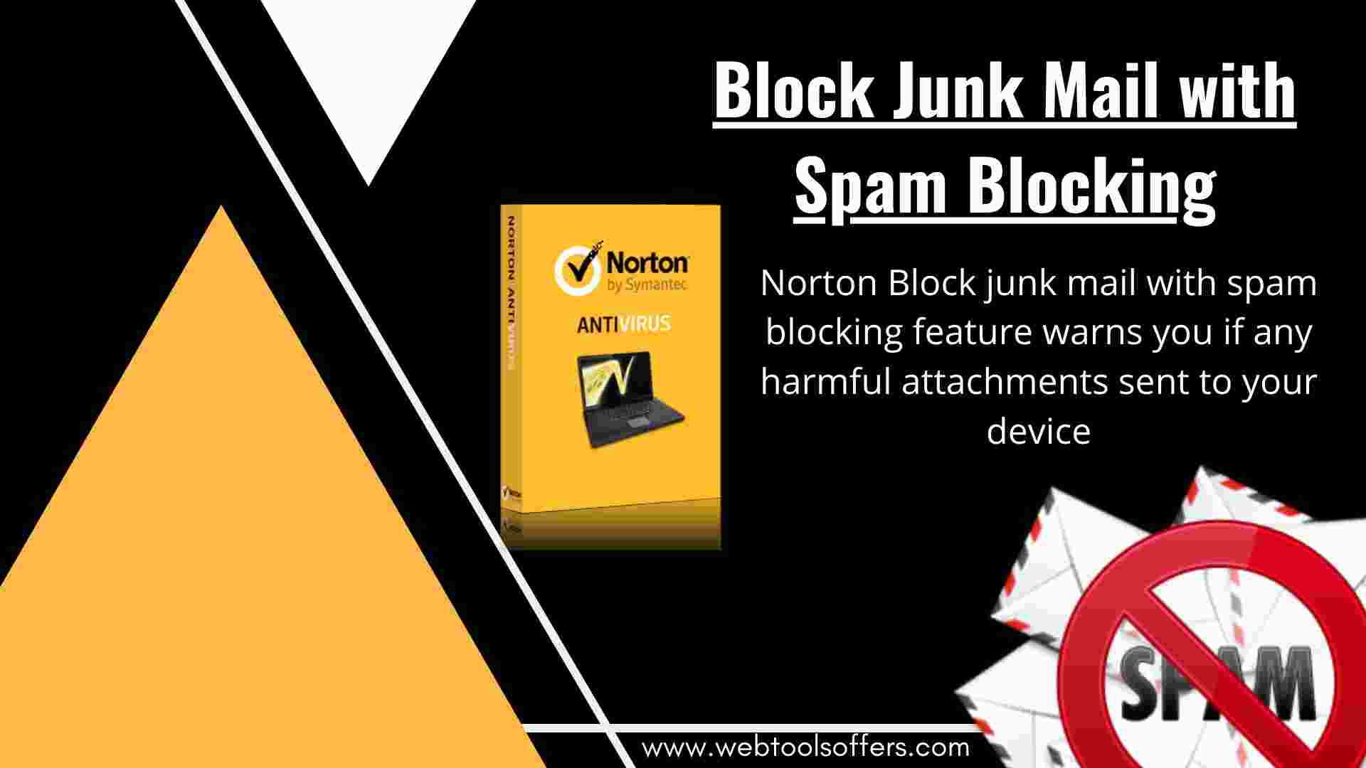 Norton Block Junk Mail