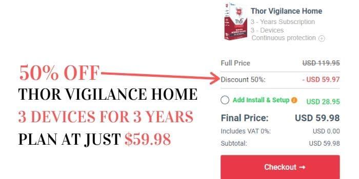 Thor Vigilance Discount Code