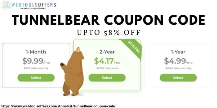 tunnelbear discount code