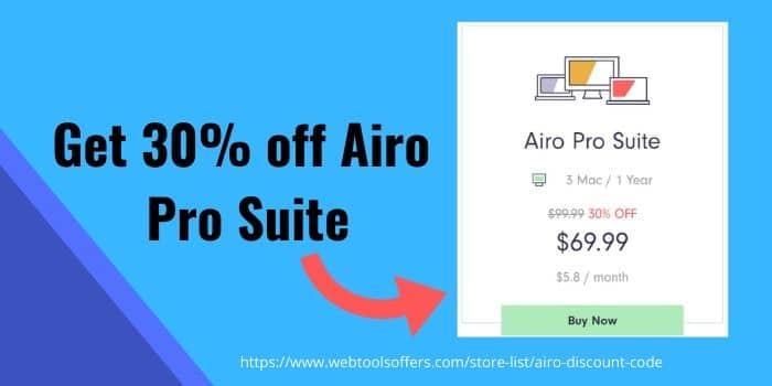 Airo Saving Deal
