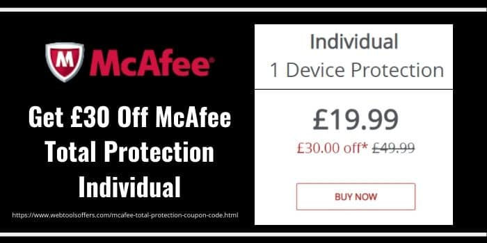 McAfee Total Protection Coupon