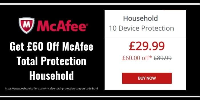 McAfee Total protection Discount
