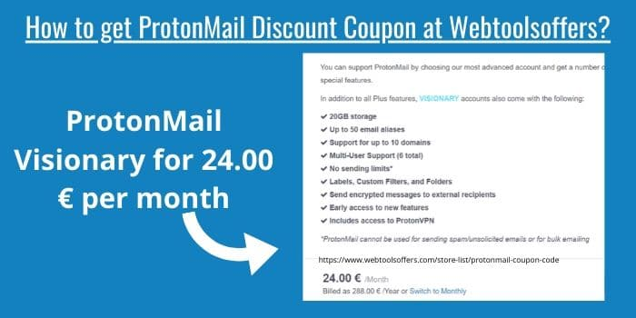 ProtonMail Discount Code 2020