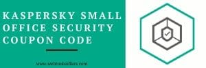 kaspersky small office security coupon code 2020