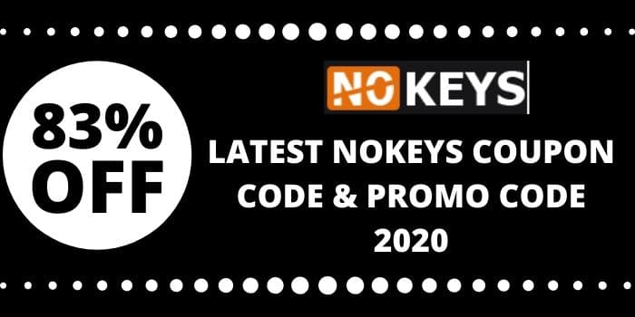 Nokeys Discount Coupon