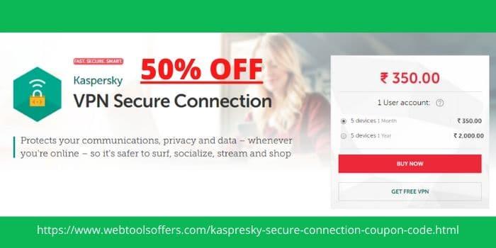 Kaspersky Secure Connection Promo Code